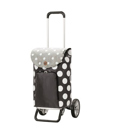 Alu Star Shopper Dots - Indkøbsvogn Trolley på hjul